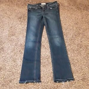 Hollister Bootcut Jean's 27 x 33